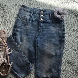 High rise denim jeans 👖